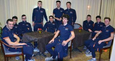 Dopogara veste il team Unieuro Wilier Trevigiani